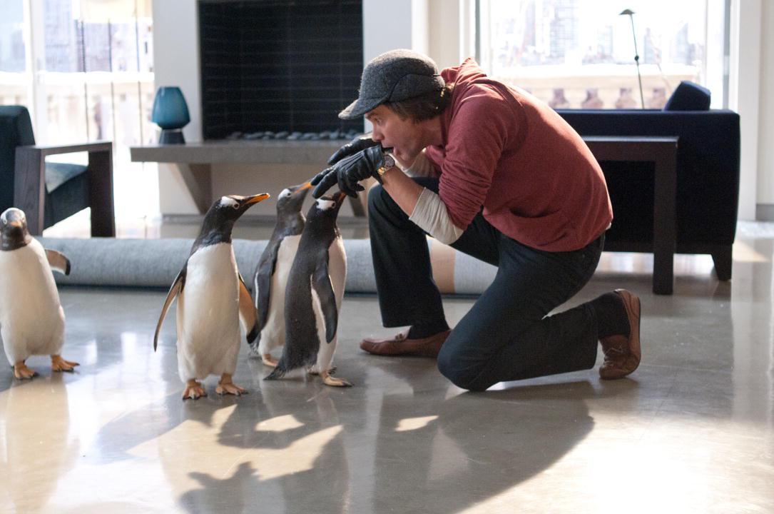 M. Popper et ses pingouins : Photo Jim Carrey, Mark Waters