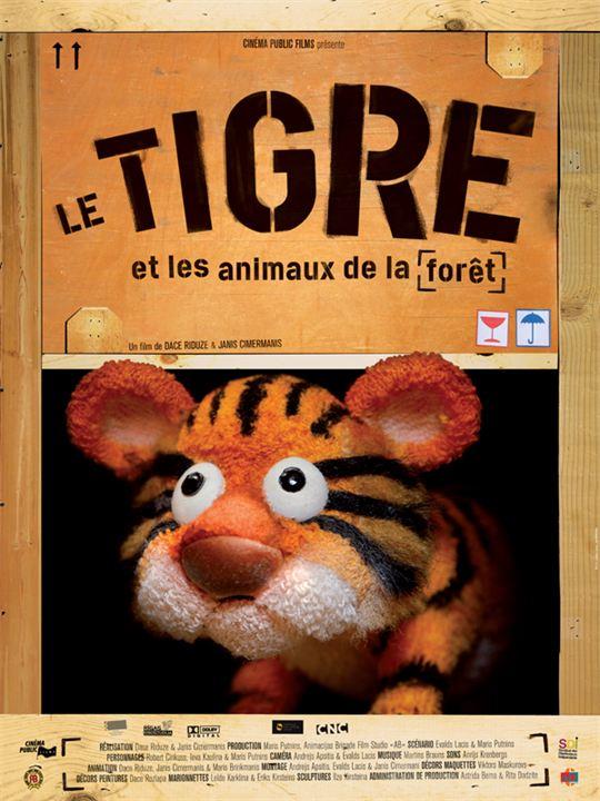 Le Tigre et les animaux de la forêt : affiche