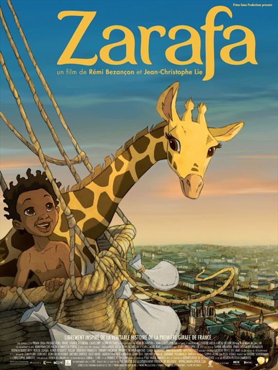 Zarafa : Affiche