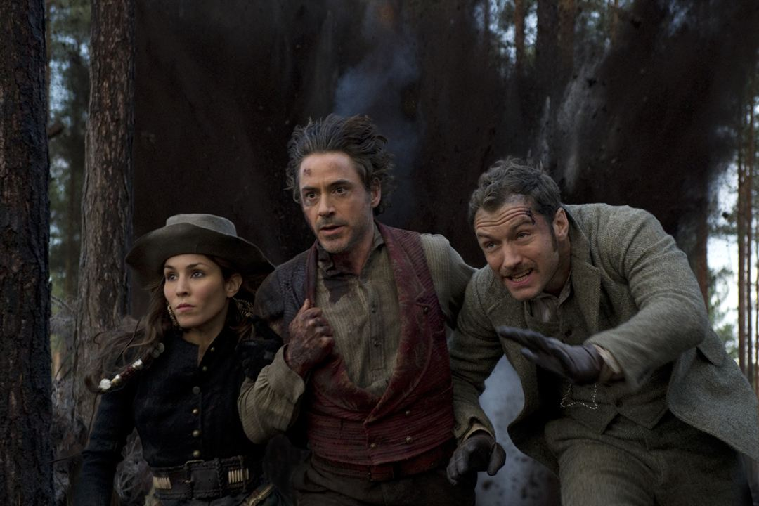 Sherlock Holmes 2 : Jeu d'ombres : Photo Jude Law, Noomi Rapace, Robert Downey Jr.