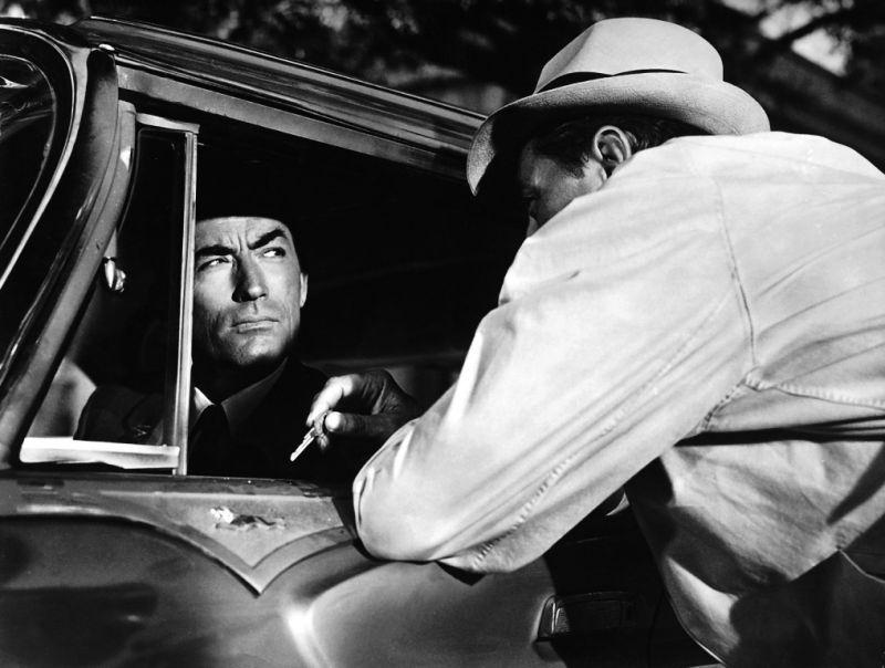 Les Nerfs à vif : Photo Gregory Peck, Robert Mitchum