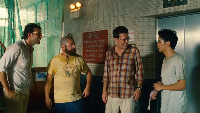 Very Bad Trip 2 : Photo Bradley Cooper, Ed Helms, Todd Phillips, Zach Galifianakis