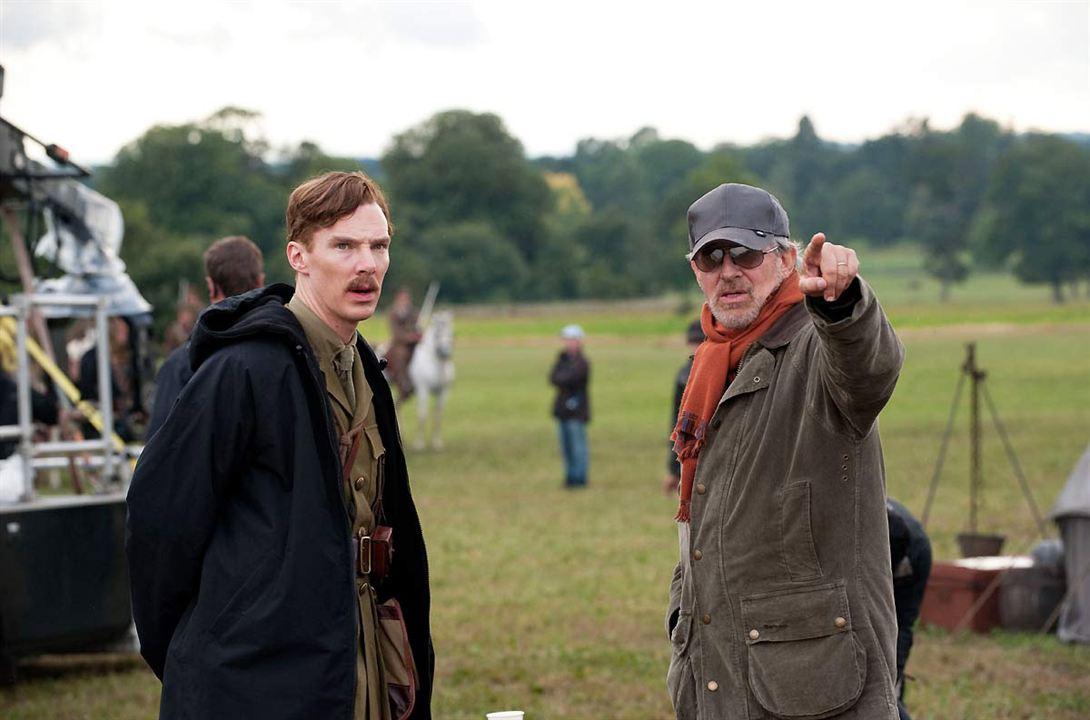 Cheval de guerre : Photo Benedict Cumberbatch, Steven Spielberg
