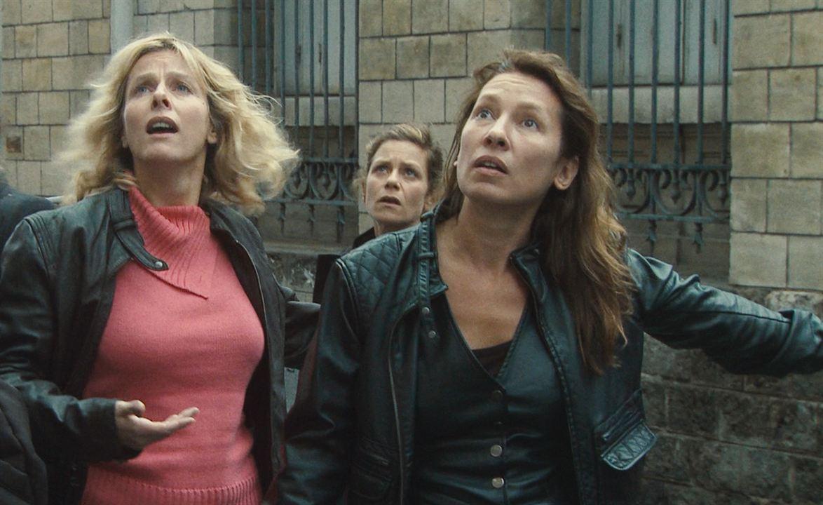 Polisse : Photo Emmanuelle Bercot, Karin Viard, Maïwenn, Marina Foïs