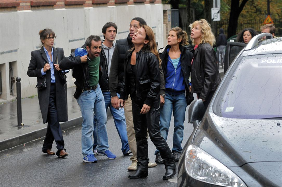 Polisse : Photo Arnaud Henriet, Emmanuelle Bercot, Jérémie Elkaïm, JoeyStarr, Karin Viard