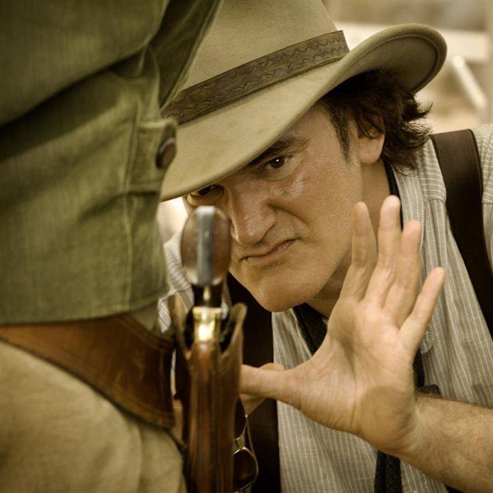 Django Unchained : Photo Quentin Tarantino