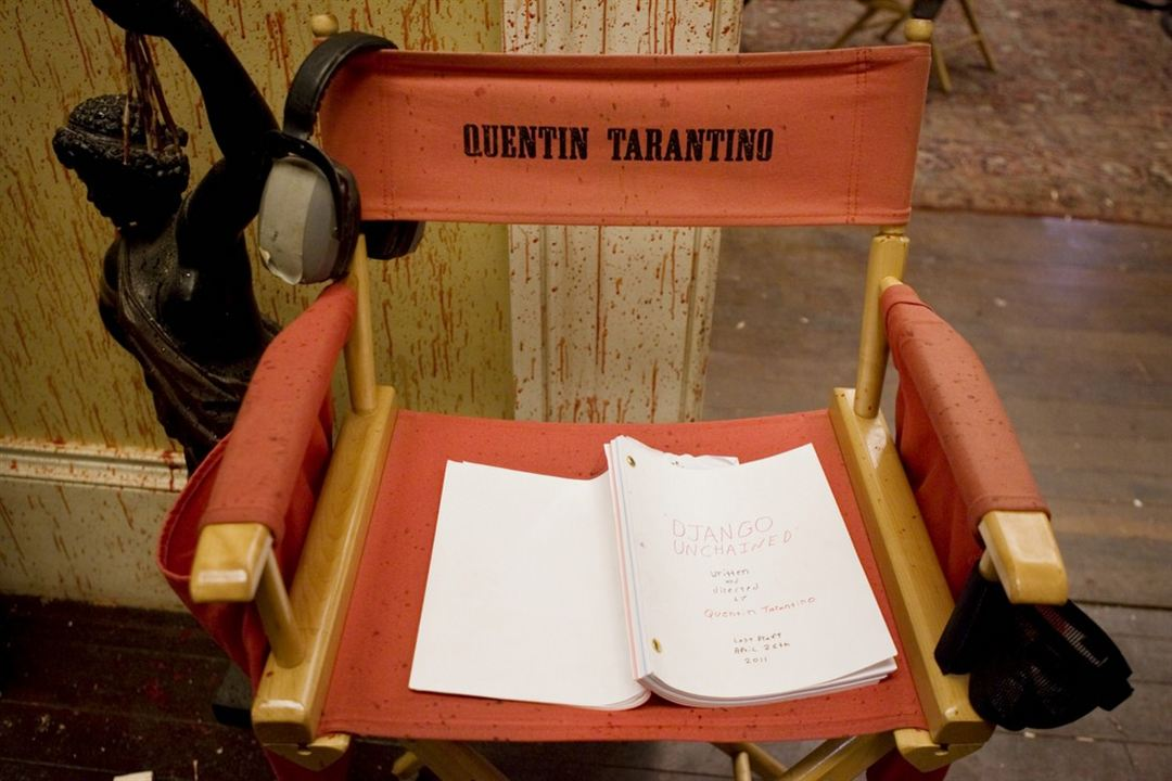 Django Unchained : Photo Quentin Tarantino