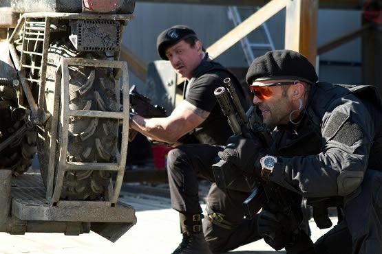 Expendables 2: unité spéciale : Photo Jason Statham, Sylvester Stallone