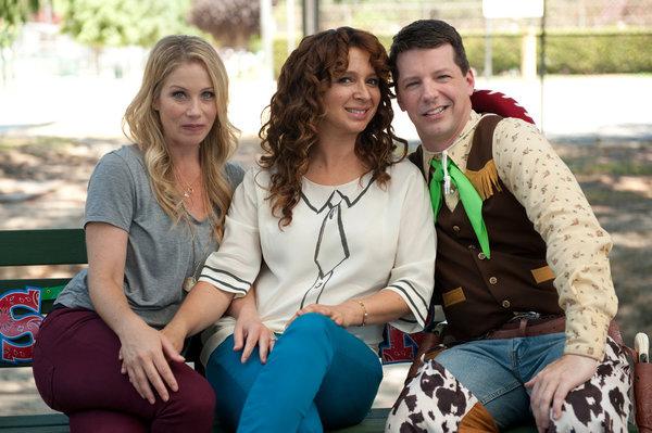 Photo Christina Applegate, Maya Rudolph, Sean Hayes