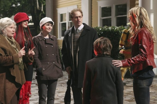 Photo Beverley Elliott, Ginnifer Goodwin, Jared Gilmore, Jennifer Morrison, Meghan Ory