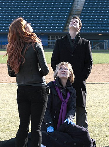 Photo Dylan Walsh, Jane Curtin, Poppy Montgomery