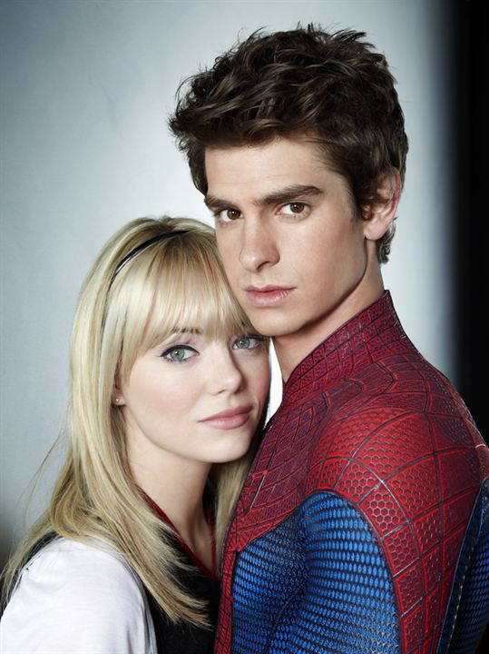 The Amazing Spider-Man : Photo Andrew Garfield, Emma Stone