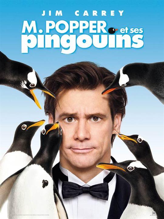 M. Popper et ses pingouins : Affiche