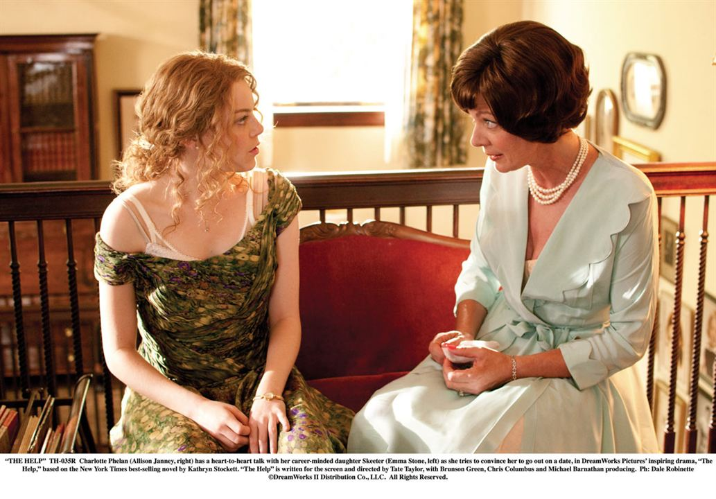 La Couleur des sentiments : Photo Allison Janney, Emma Stone