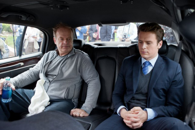 Photo Jonathan Groff, Kelsey Grammer