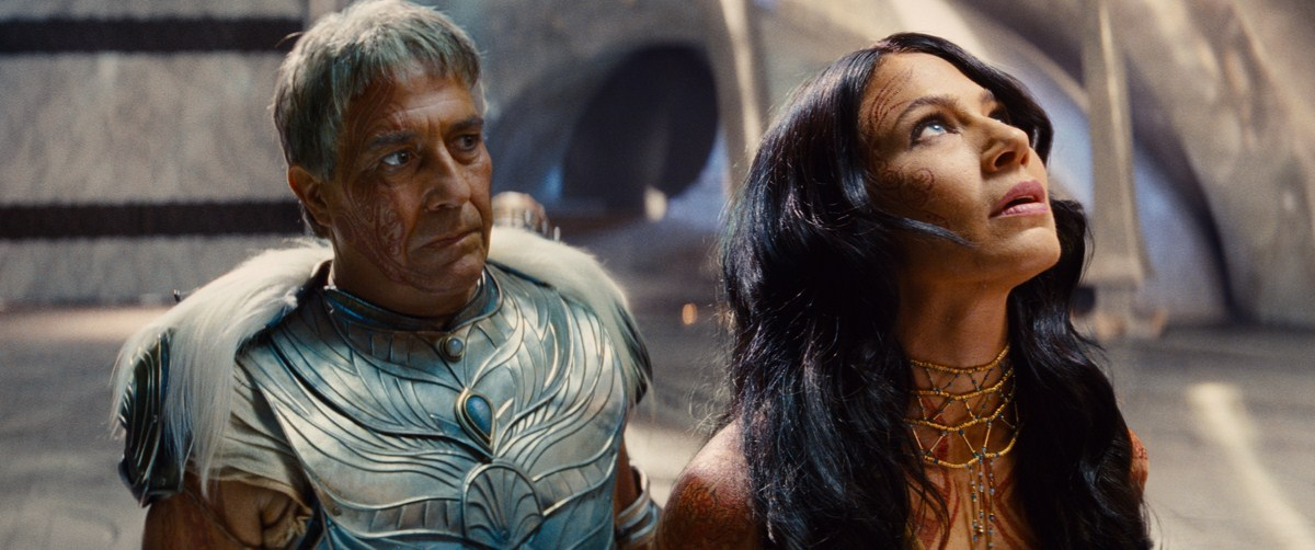John Carter : Photo Ciarán Hinds, Lynn Collins