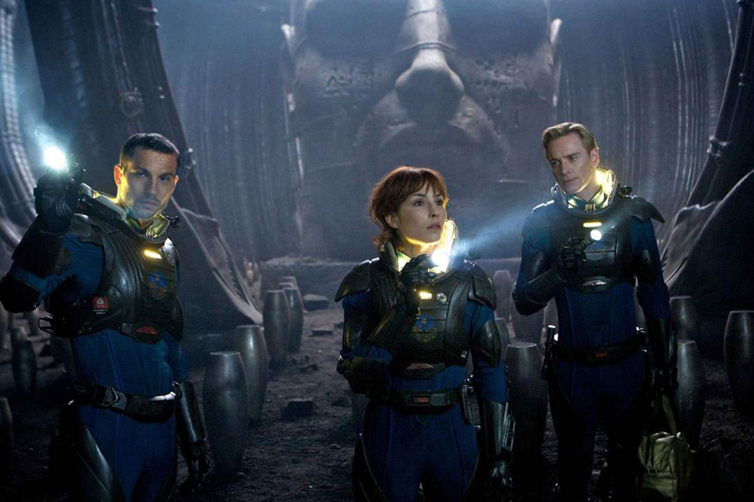Prometheus : Photo Logan Marshall-Green, Michael Fassbender, Noomi Rapace