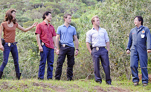 Photo Alex O'Loughlin, Daniel Dae Kim, Grace Park, Masi Oka, Scott Caan