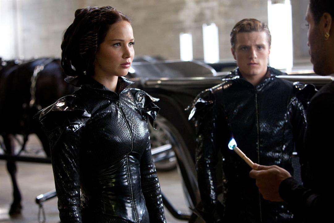 Hunger Games : Photo Jennifer Lawrence, Josh Hutcherson