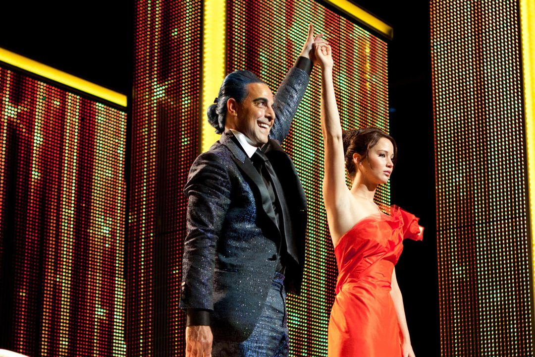 Hunger Games : Photo Jennifer Lawrence, Stanley Tucci