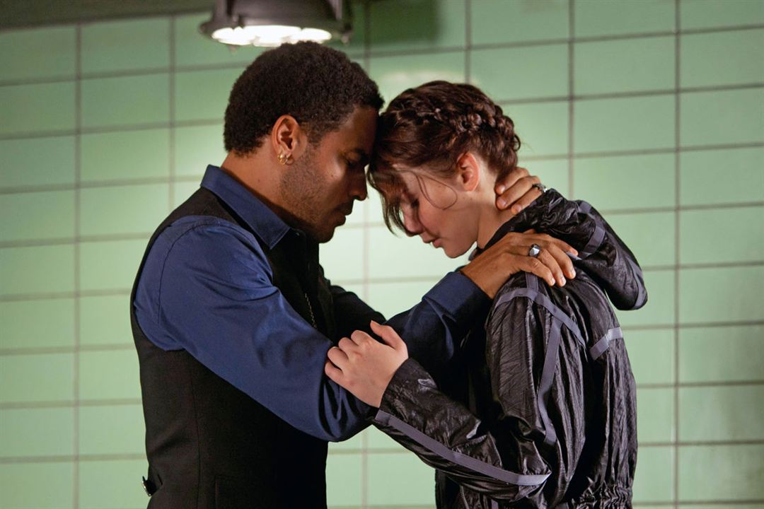 Hunger Games : Photo Jennifer Lawrence, Lenny Kravitz
