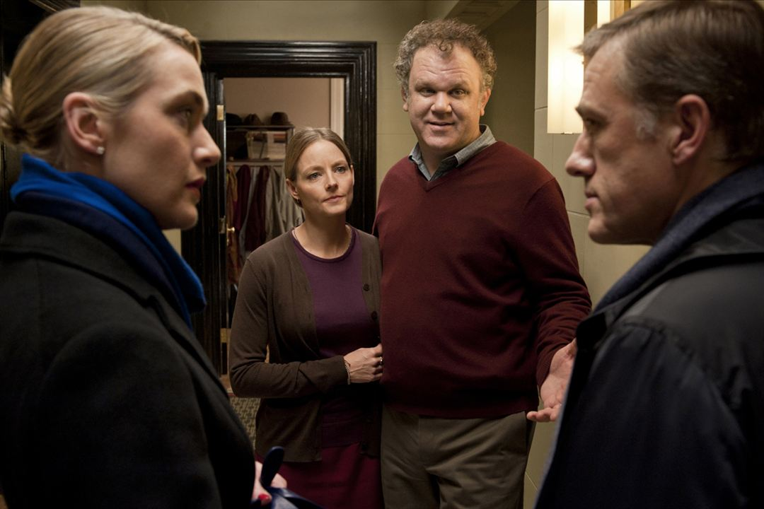 Carnage : Photo Christoph Waltz, Jodie Foster, John C. Reilly, Kate Winslet