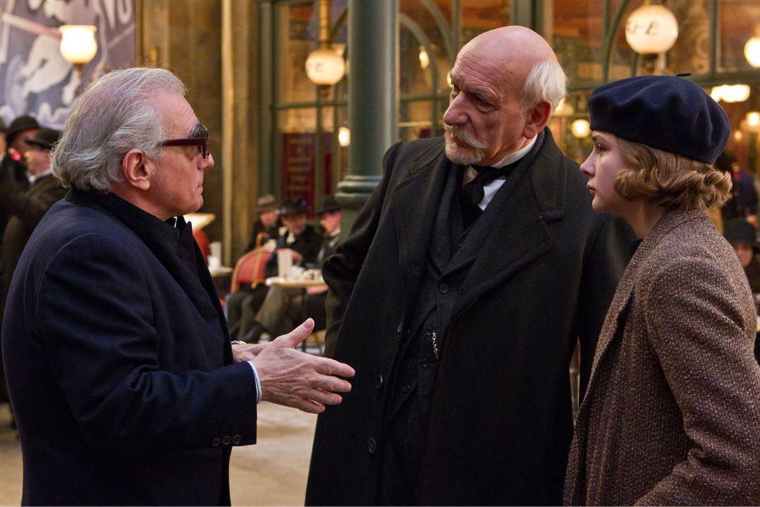 Hugo Cabret : Photo Ben Kingsley, Chloë Grace Moretz, Martin Scorsese