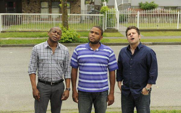 Photo Anthony Anderson, Dule Hill, James Roday