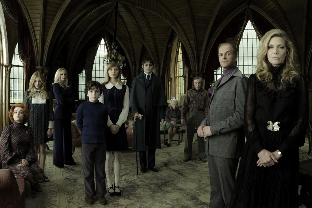 Dark Shadows : Photo Bella Heathcote, Chloë Grace Moretz, Eva Green, Gulliver McGrath, Helena Bonham Carter
