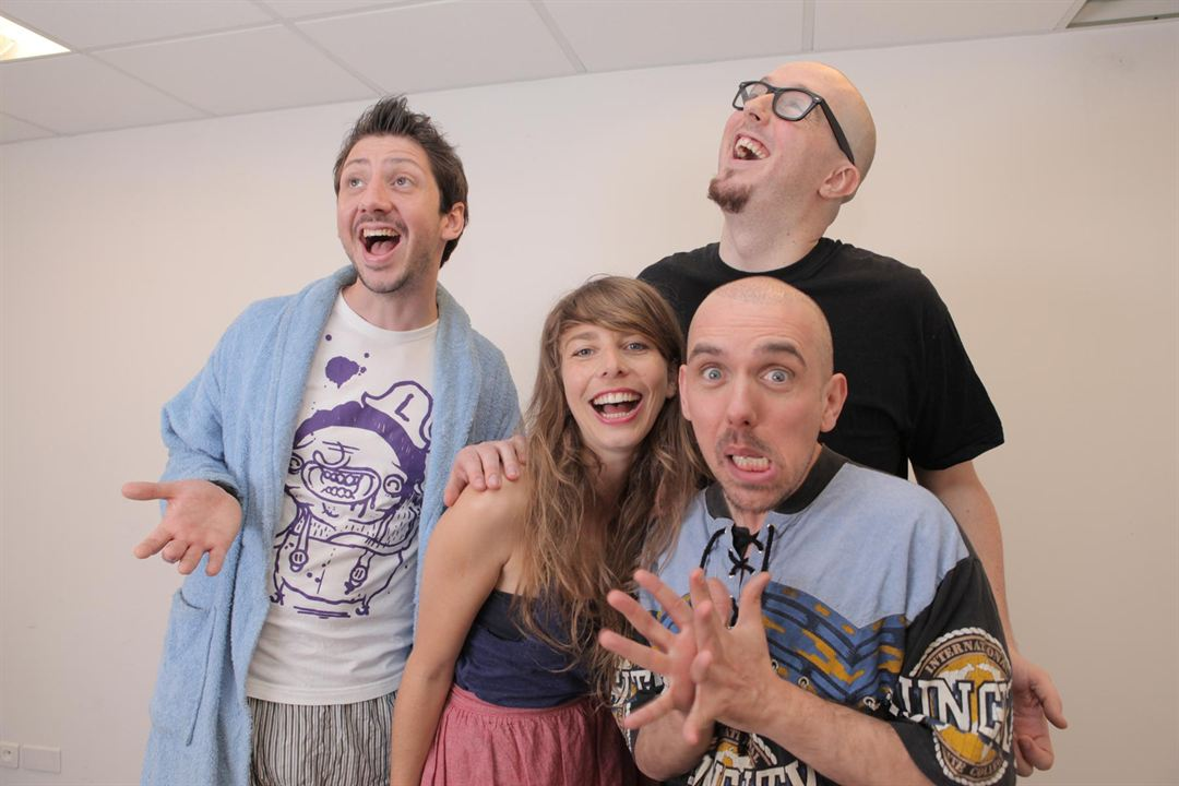 NerdZ : Photo Davy Mourier, Didier Richard, Maëlys Ricordeau, Monsieur Poulpe