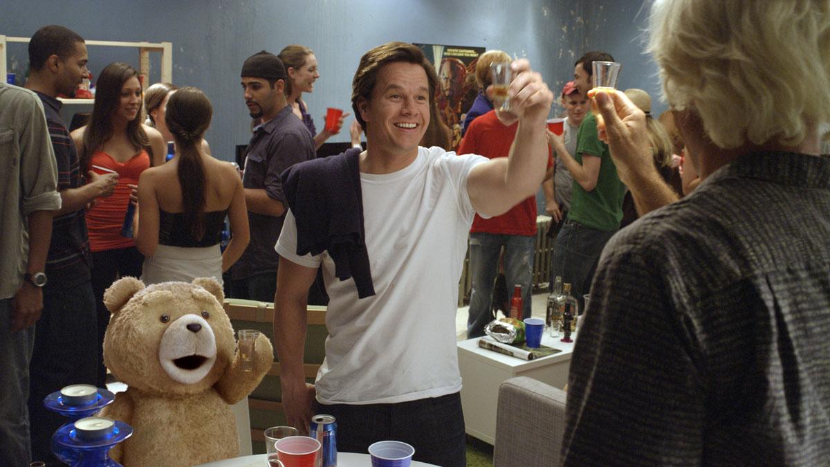 Ted : Photo Mark Wahlberg, Seth MacFarlane