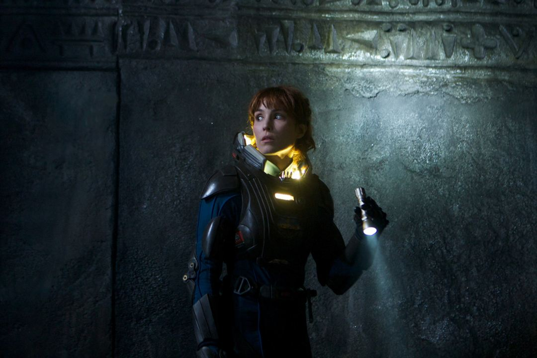 Prometheus : Photo Noomi Rapace