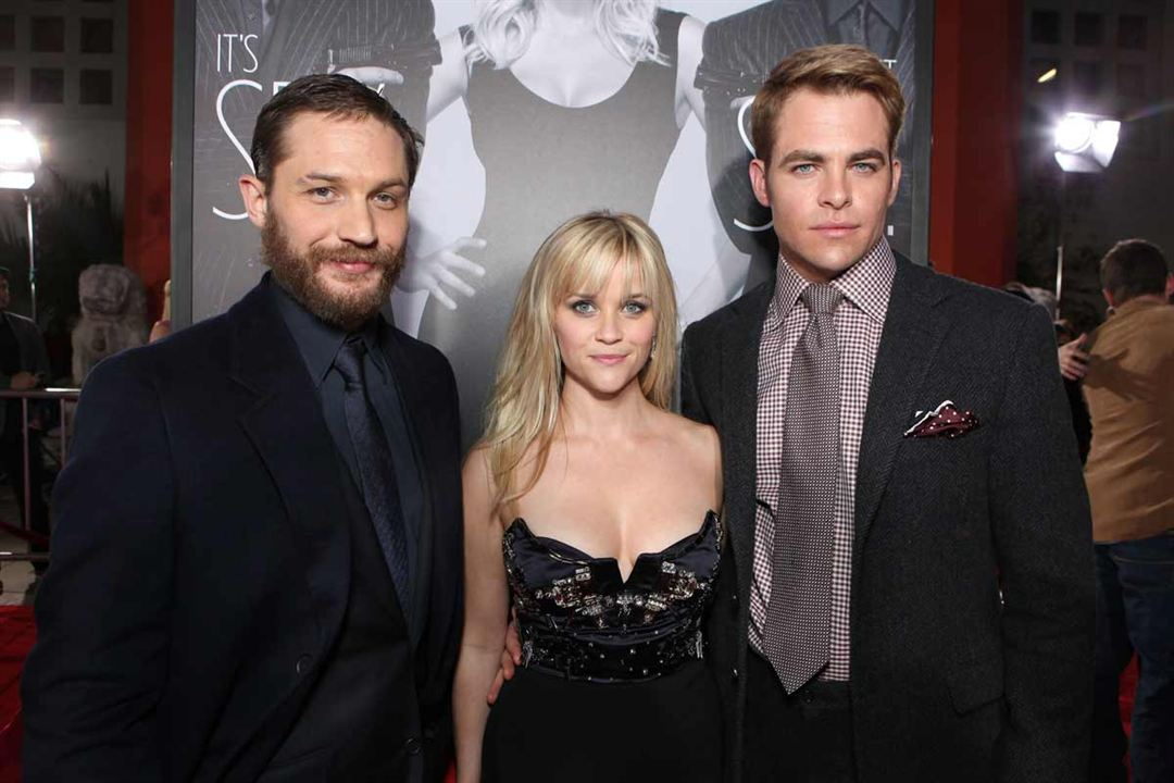 Target : Photo Chris Pine, Reese Witherspoon, Tom Hardy