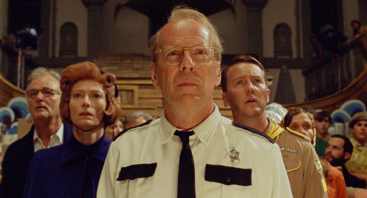 Moonrise Kingdom : Photo Bill Murray, Bruce Willis, Edward Norton, Tilda Swinton