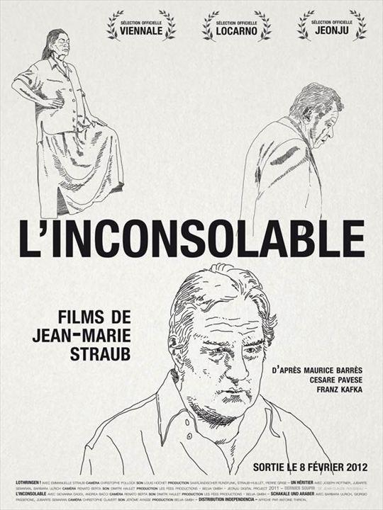 L'Inconsolable (programme de 4 courts-métrages) : affiche
