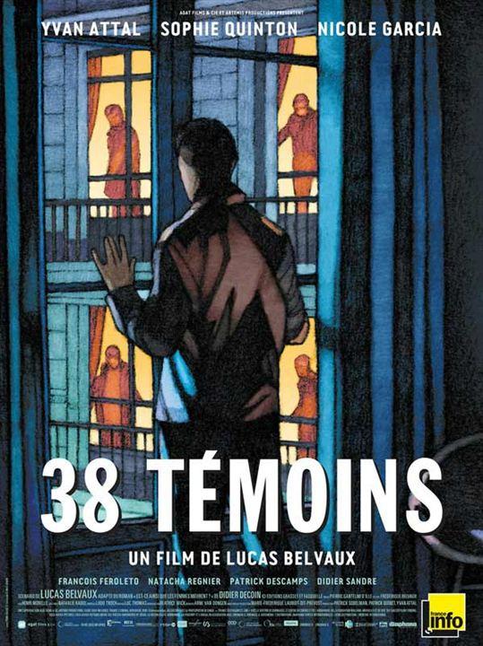 38 témoins : Affiche
