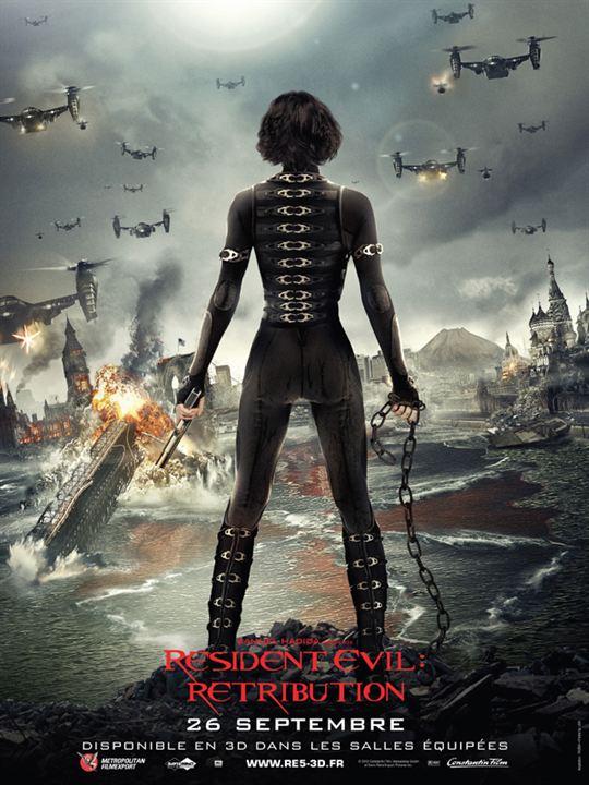 Resident Evil: Retribution : affiche