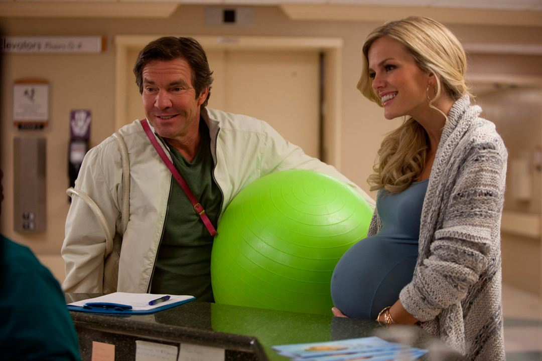 Ce qui vous attend si vous attendez un enfant : Photo Brooklyn Decker, Dennis Quaid