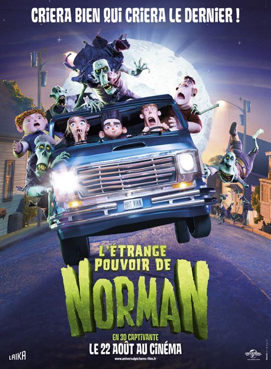L'Étrange pouvoir de Norman : affiche