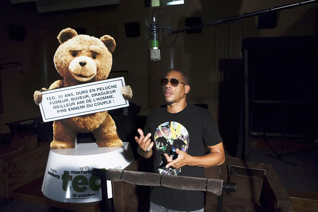 Ted : Photo JoeyStarr