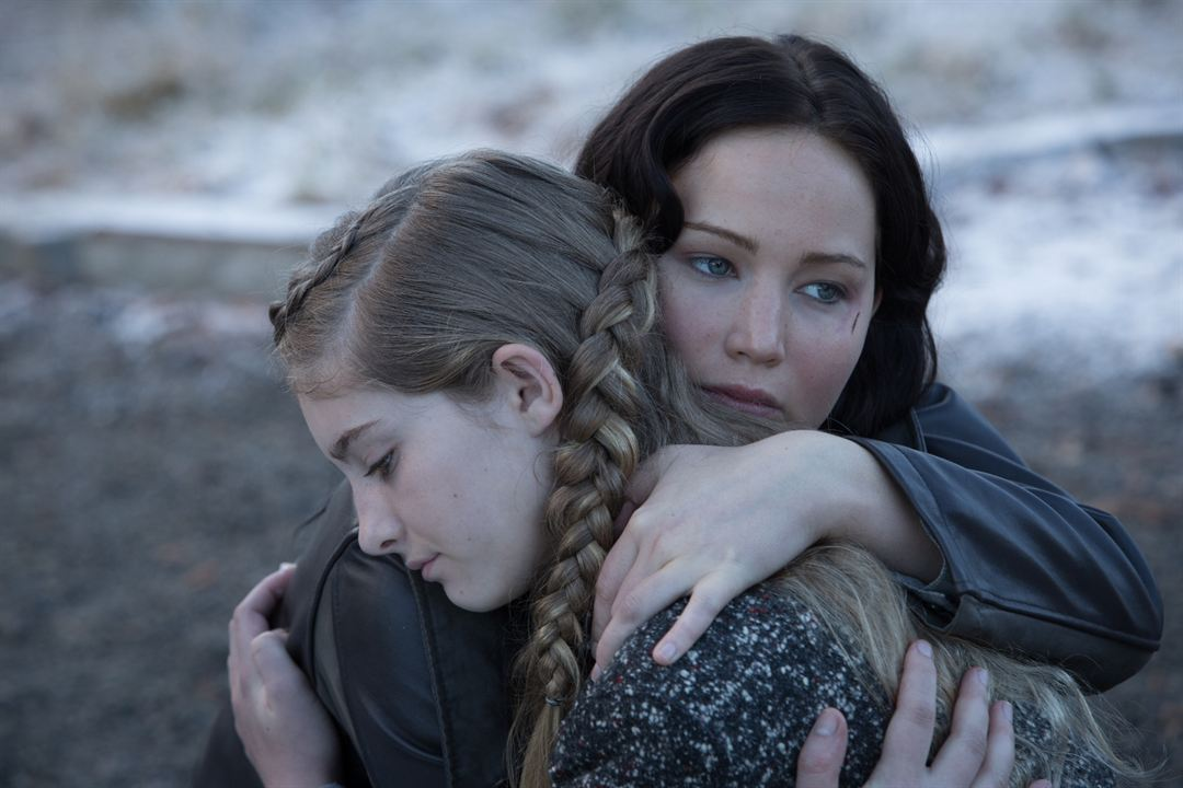Hunger Games - L'embrasement : Photo Jennifer Lawrence, Willow Shields