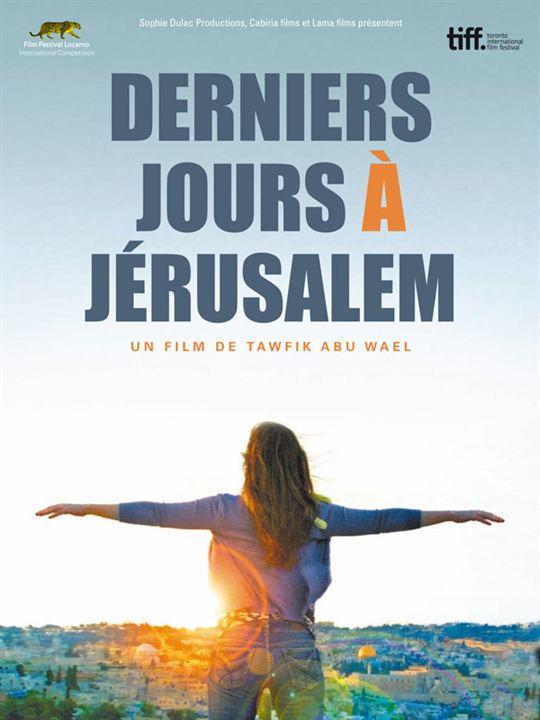 Derniers jours à Jérusalem : affiche