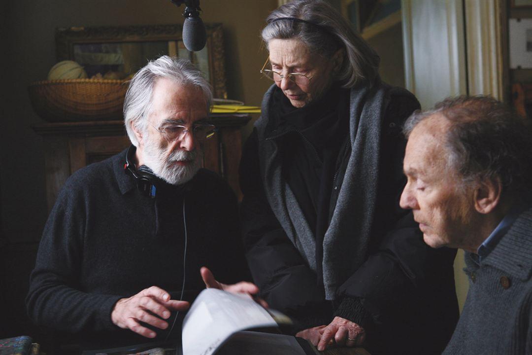 Amour : Photo Emmanuelle Riva, Jean-Louis Trintignant, Michael Haneke