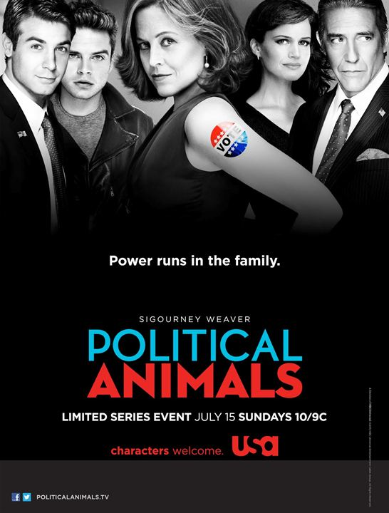 Political Animals : Photo Carla Gugino, Ciarán Hinds, Sebastian Stan, Sigourney Weaver