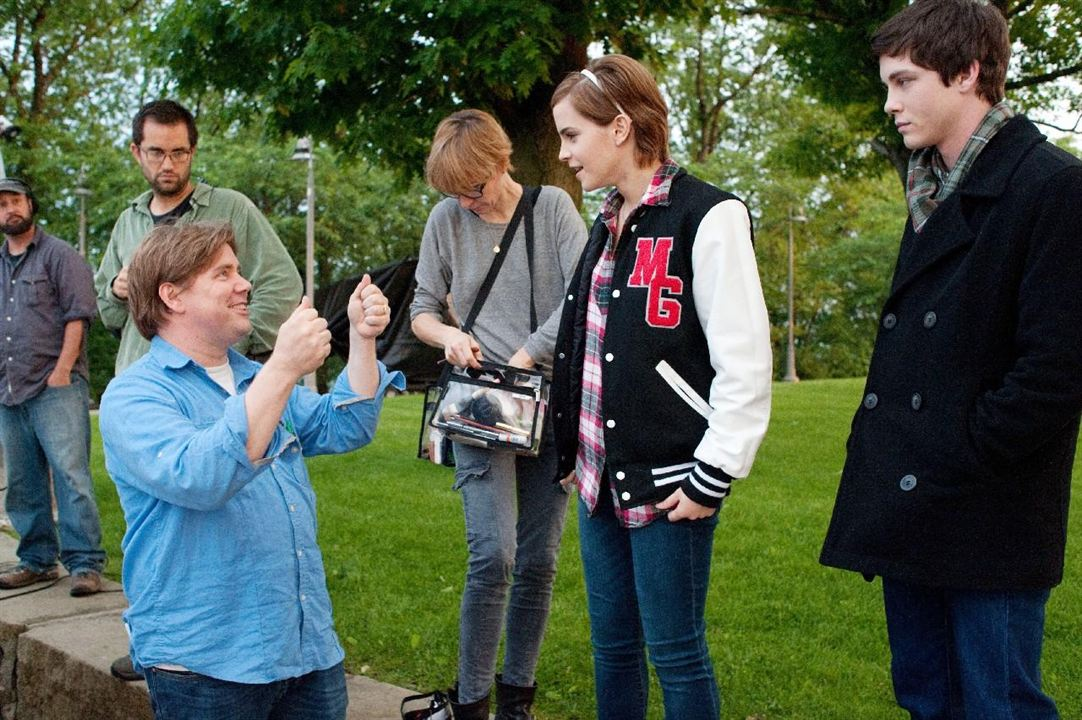 Le Monde de Charlie : Photo Emma Watson, Logan Lerman, Stephen Chbosky