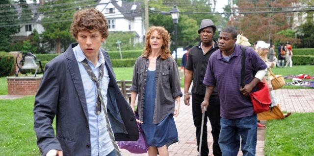 Why Stop Now? : Photo Isiah Whitlock Jr., Jesse Eisenberg, Melissa Leo, Tracy Morgan