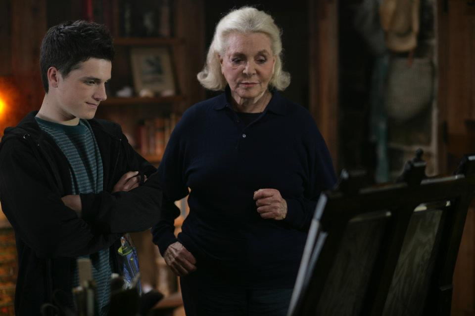 The Forger : Photo Josh Hutcherson, Lauren Bacall