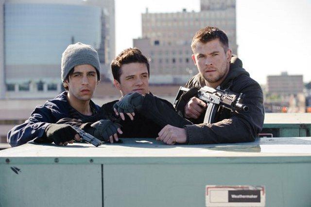 L'Aube rouge : Photo Chris Hemsworth, Josh Hutcherson, Josh Peck, Liam Hemsworth