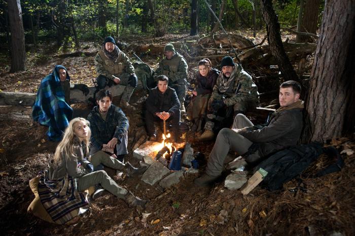 L'Aube rouge : Photo Chris Hemsworth, Isabel Lucas, Josh Hutcherson, Josh Peck