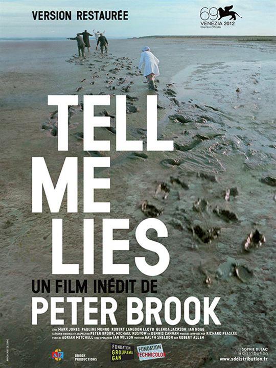 Tell me lies : Affiche
